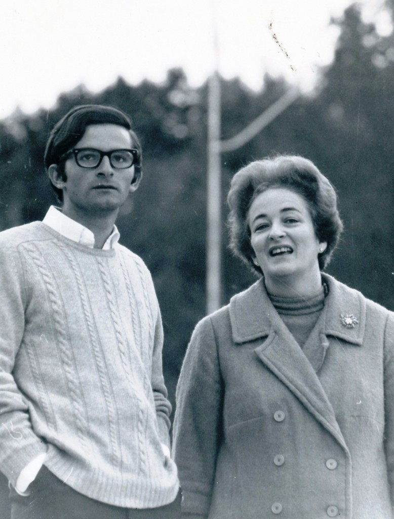 Carlos & Mrs. Macaya, Fall 1968