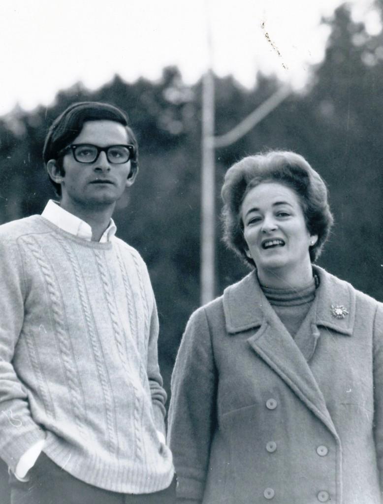Carlos & Mrs. Macaya, Fall 1968